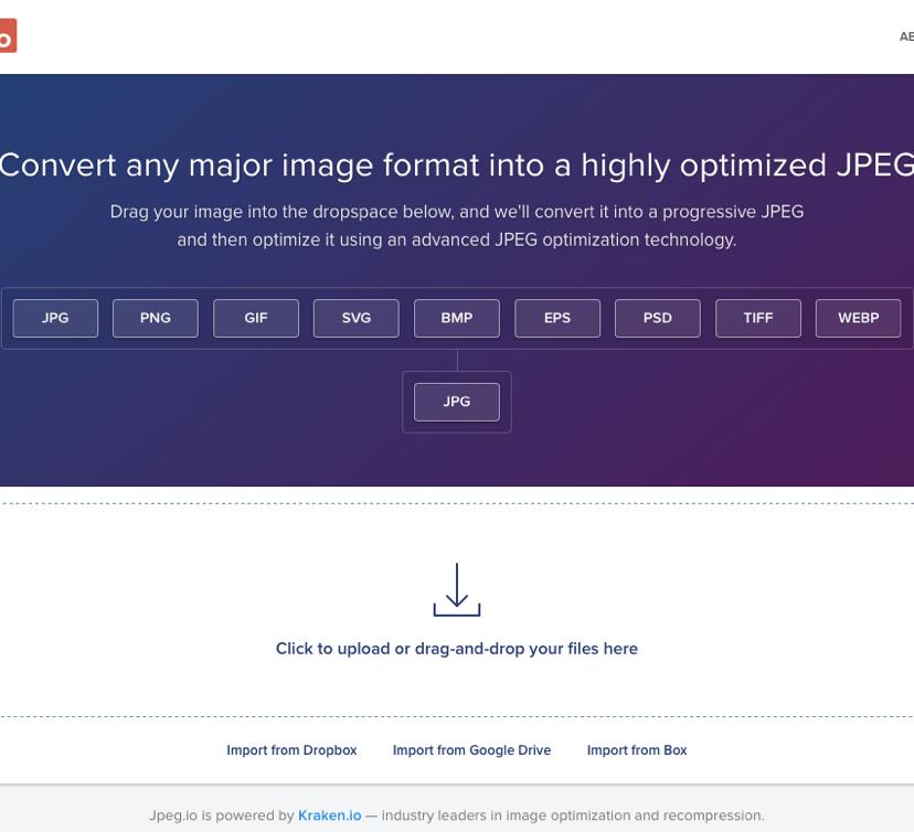 画像を荒くせずに圧縮するWebツール