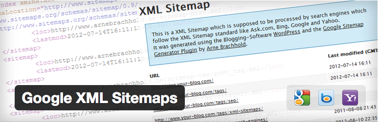 WordPressプラグイン - Google XML Sitemaps | wordpress plugin