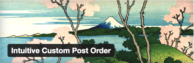 WordPressプラグイン - Intuitive Custom Post Order | wordpress plugin